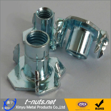 crimp lock Furniture tee nut