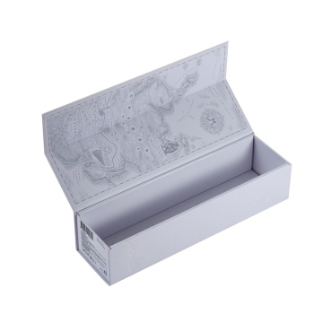 Luxury White Magnetic Wine Presentation Box