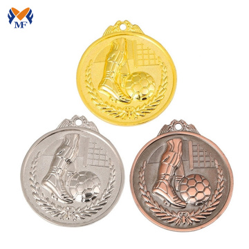 Design fantasy country flag custom football medals