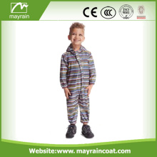 Kids 100% Polyester Waterproof Full Print Rainsuit