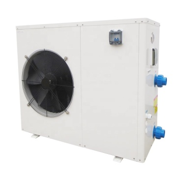 Simple design DC inverter pool heat pump