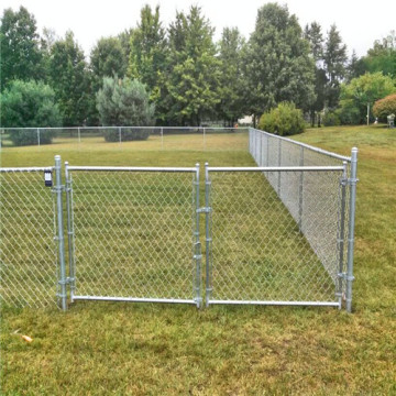 Pvc Chain Link Fence For Playing Fields
