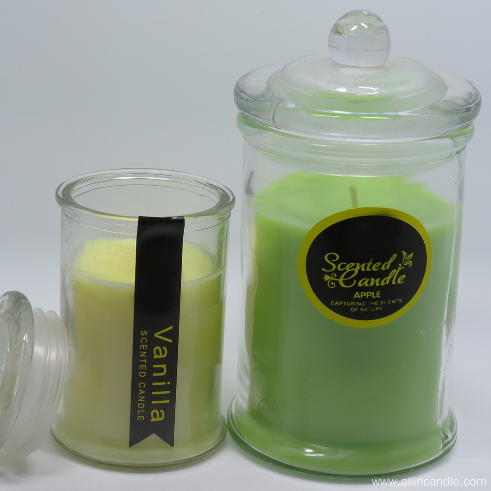 Scented Jar Glass Candles