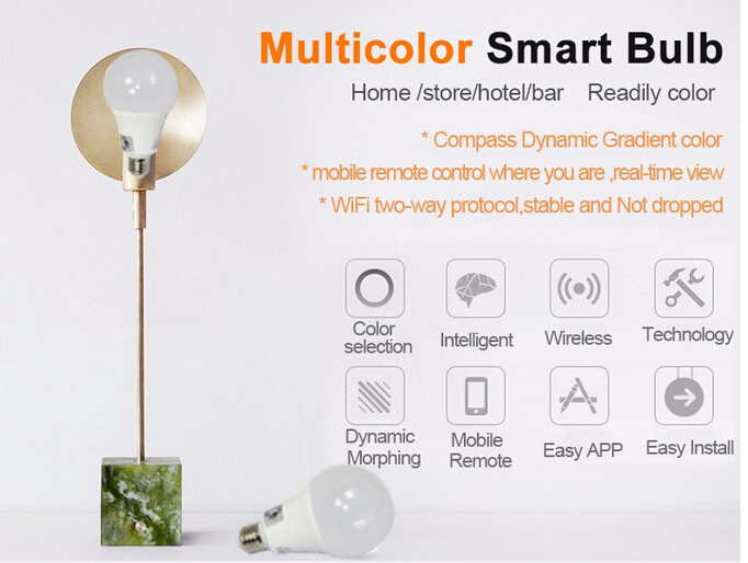 Smart decoration bulb