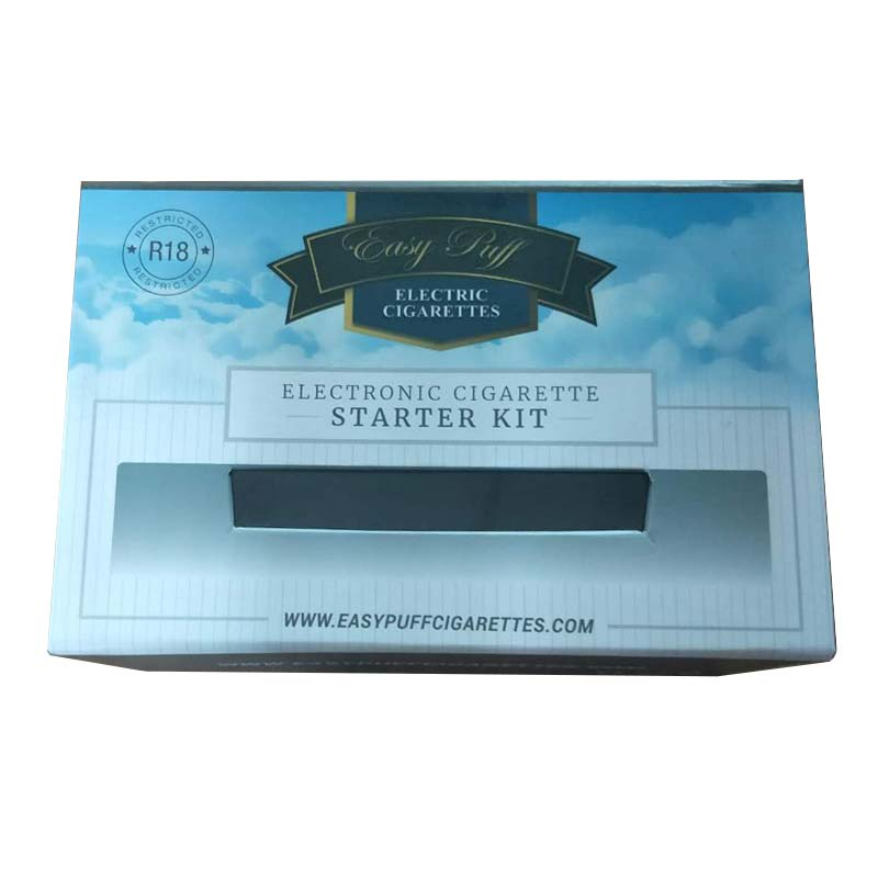 E-cigarette starter kit gift box