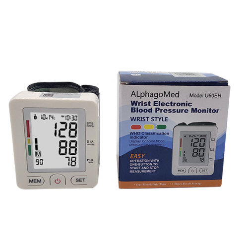 FDA BP Machine Wrist Blood Pressure Monitor