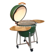 Fast Delivery for China Ceramic Kamado Grill,Kamado Grill,Kamado BBQ Supplier 18 Inch Kamado Grill with Stainless Steel Leg supply to South Korea Importers