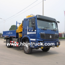 Howo Off-Road 4 x 4 Lorry Crane Truck For Sale