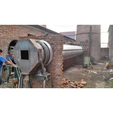 Internal heat drying carbonization furnace