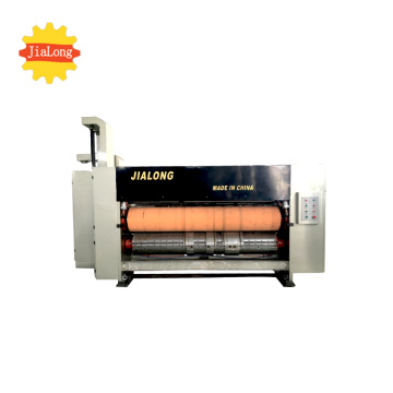 carton box full automatic rotary die cutting machine