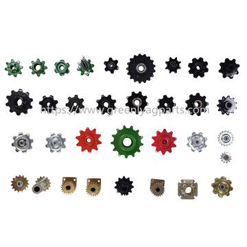 Agricultural aftermarket sprockets for John Deere Case-IH