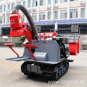 OEM Mini Paddy Harvester Wheat Harvester 4LZ-0.8