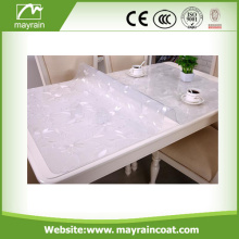Popular Super Transparent pvc Printed Wedding Table Clothes
