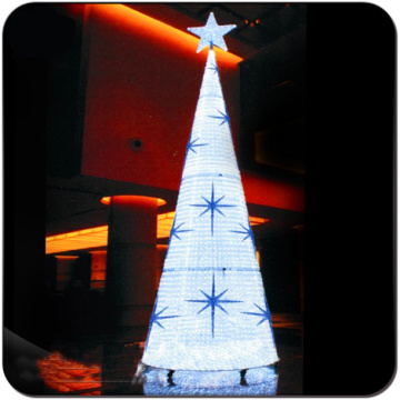 Christmas decorate hotel shopping center restaurant