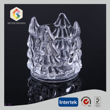 Factory wholesale price for Votive Holder Decoration Crystal Christmas Candle Holders supply to Latvia Manufacturers
