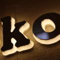 Front Back Lit Halo Channel Letters Signs
