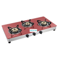 Crystal Marbello 4 Burner Toughened Glass Cooktop