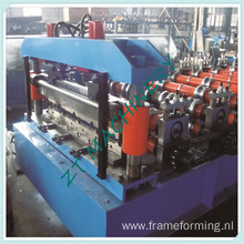 Aluminum Steel Panel Boltless Roof Roll Forming Machinery