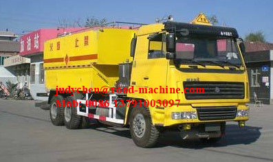 10T Site Mixed Granular ANFO ExplosiveTruck