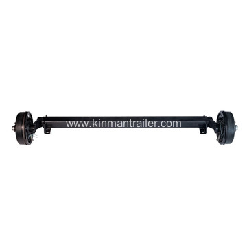 Trailer Rubber Torsion Axle With Hydraulic Drum Brake