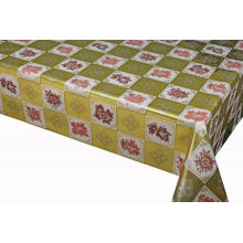 Elegant Tablecloth with Non woven backing Hole