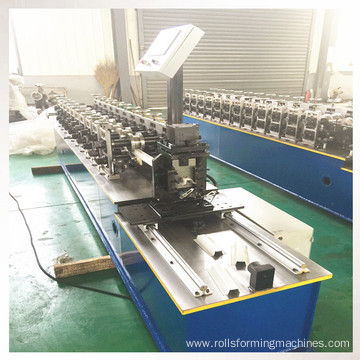 Metal keel furring channel roll forming machine