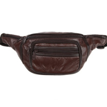 Factory Supplier for for Crossbody Bags,Trendy Crossbody Bags,Outdoor Crossbody Bags Manufacturers and Suppliers in China High Quality Trendy Leather Waist Bag supply to Iceland Factory