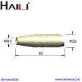 4295 Brass Tapered Nozzle for Bernard