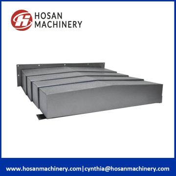 Steel telescopic covers protection machine guard rail