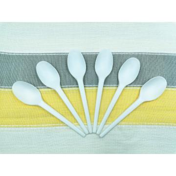 Cornstarch 100% Biodegradable PLA Cutlery Spoons