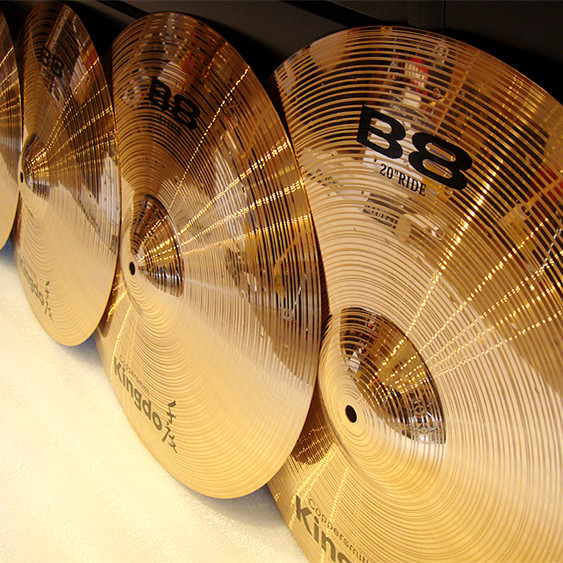 B8  Drum Set Medium Cymbals