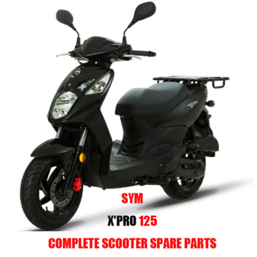 X PRO 125 for SYM X' PRO 125 Complete Scooter Spare Parts Original Spare Parts