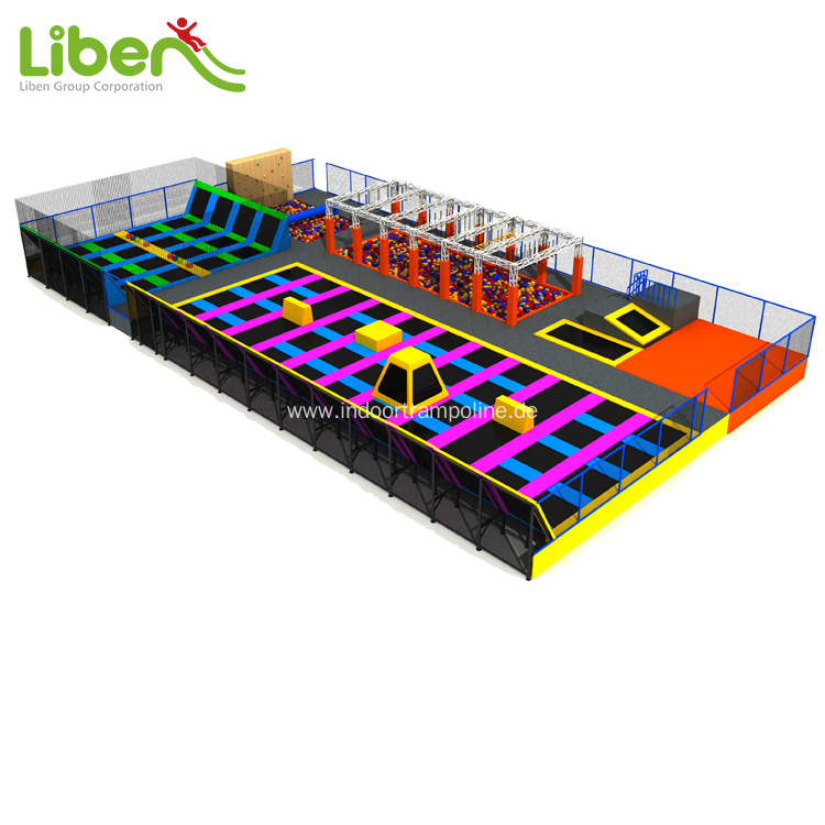 CE approved UK indoor trampoline park