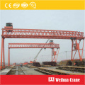 truss-type single girder gantry crane