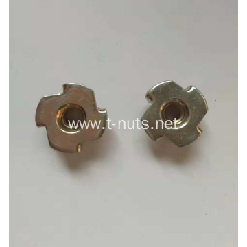 Color galvanized full thread nuts