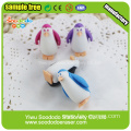 eraser for promotional gift penguin shaped eraser