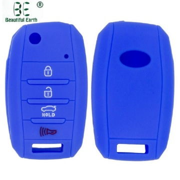 Silicone key cover for kia soul