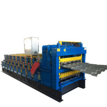 Top for Wall Panel Roll Forming Machine Three waved layer roofing roll forming machine export to Saudi Arabia Supplier