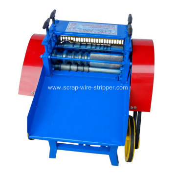 wire cut at strip machine