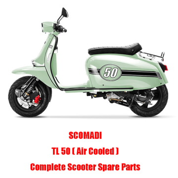 SCOMADI TL50 Air Cooled Scooter Engine Parts Complete Scooter Spare Parts Original Quality