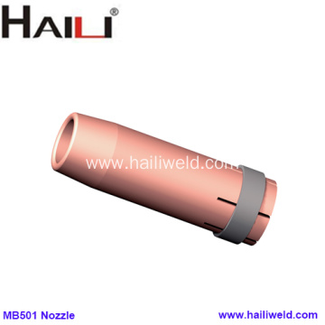 MB501D Concial welding nozzle copper 16MM