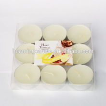 High Quality for Unscented White Candles tea light candle / hollidays use export to Nigeria Suppliers