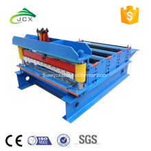 Galvanized steel leveling and cutting machine