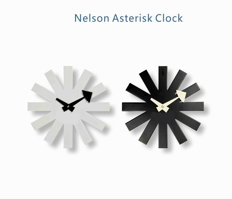Replica Asterisk Clock