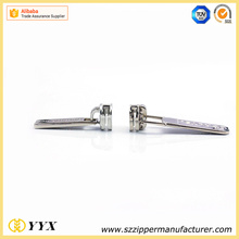 Zinc alloy strong replacement zippers pull zipper slider