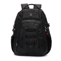 Suissewin Black Impermeável Outdoor Lazer Laptop Backpack