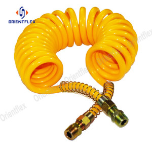 100 ft self coiling garden hose