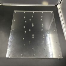 CNC Milling Machining Acrylic Pusher Sheet