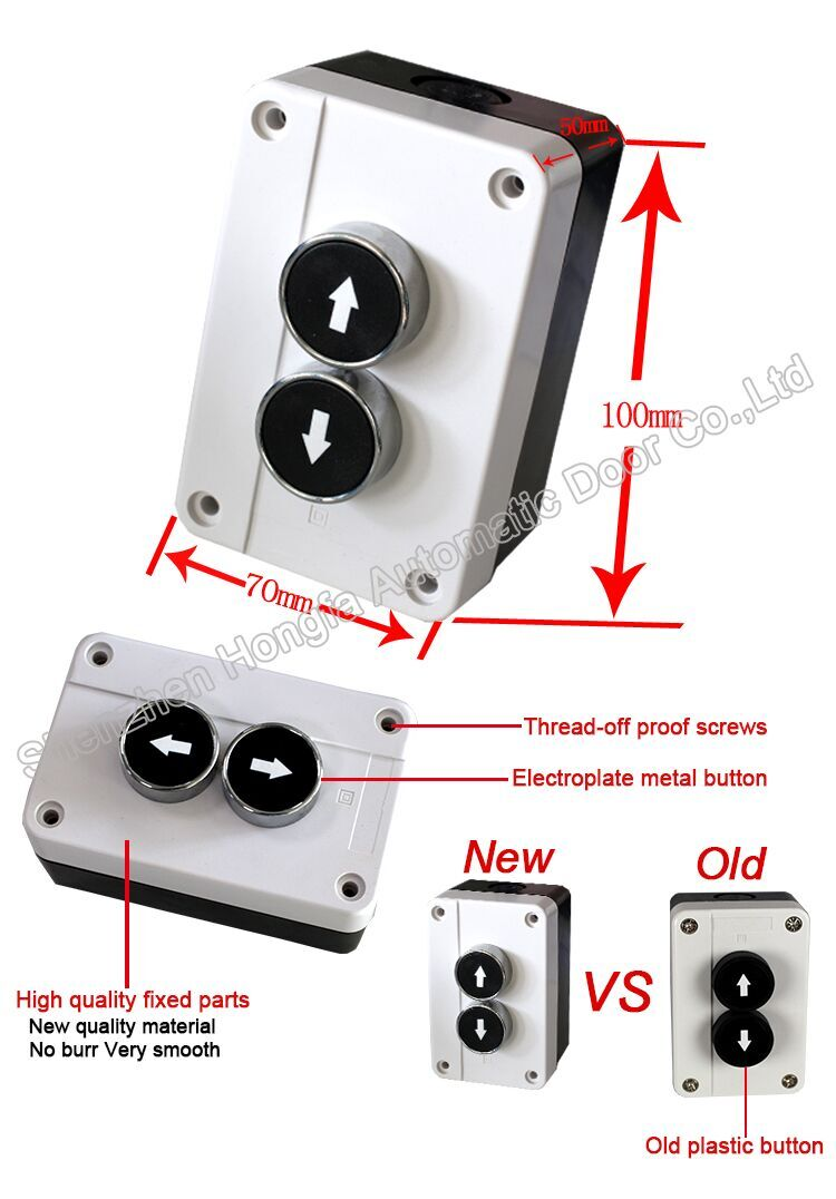 electrial push button
