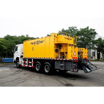 sealer surfacing paver pavement asphalt truck machine